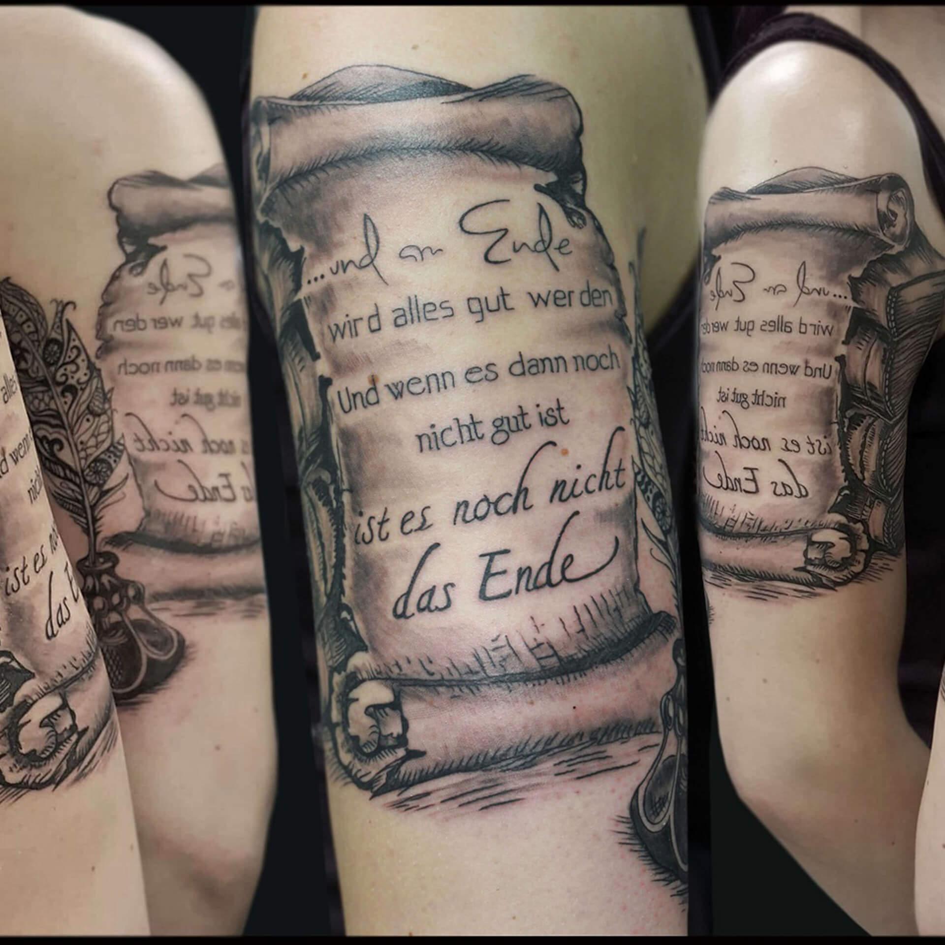 Alicja Mazur Ink tatuaże Trójmiasto