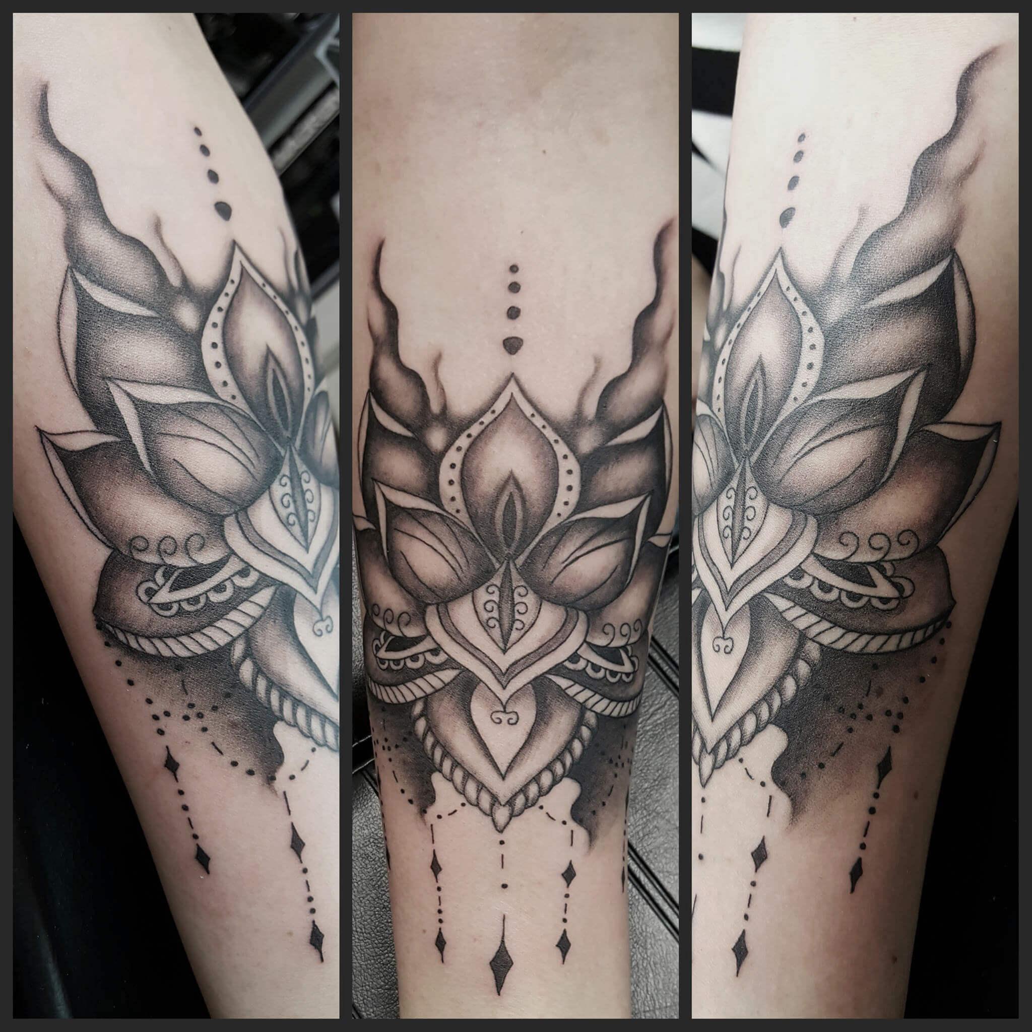 Studio tatuażu Gdańsk Alicja Mazur_styl mroczny