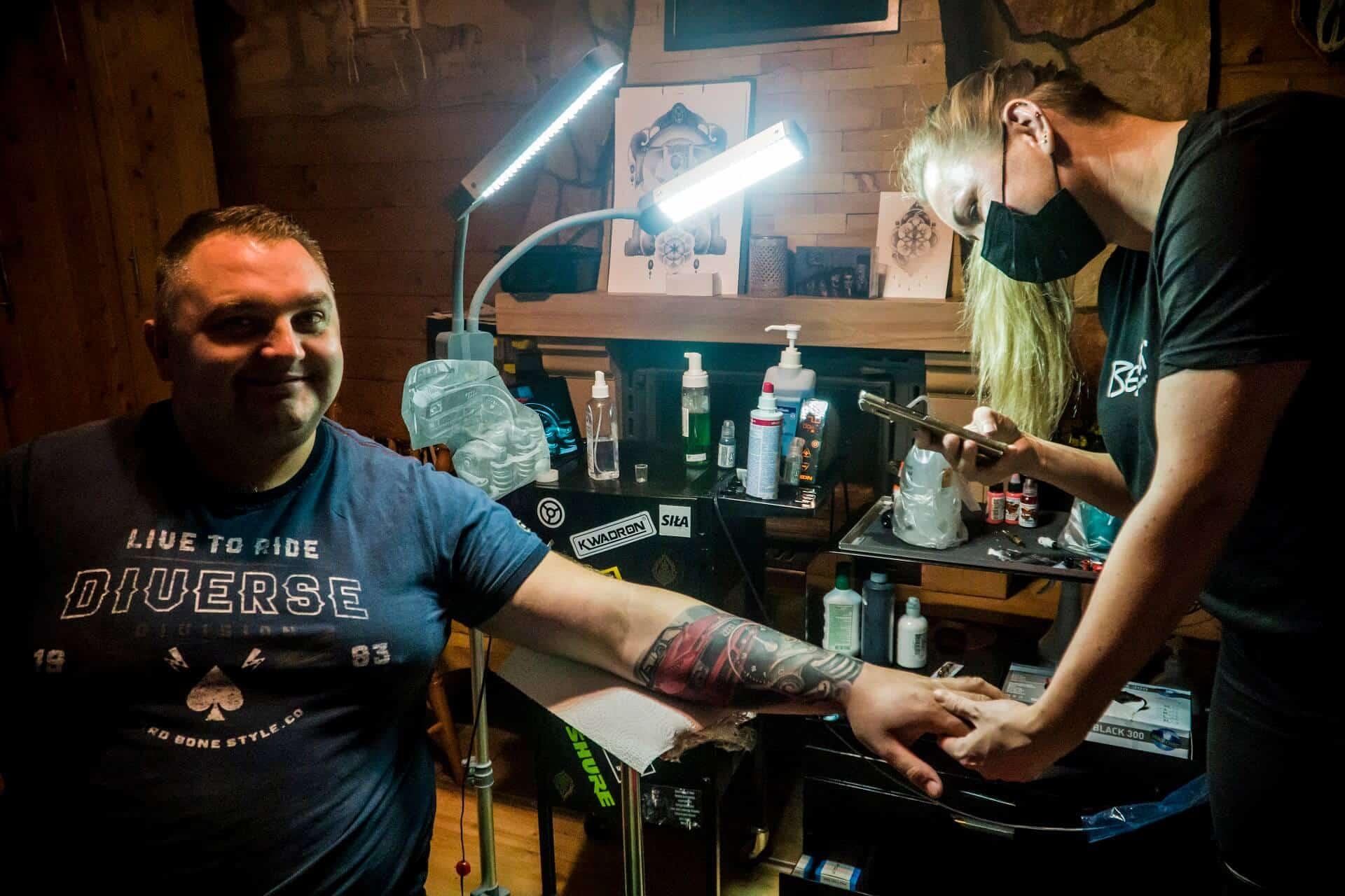 Alicja Mazur tattoo